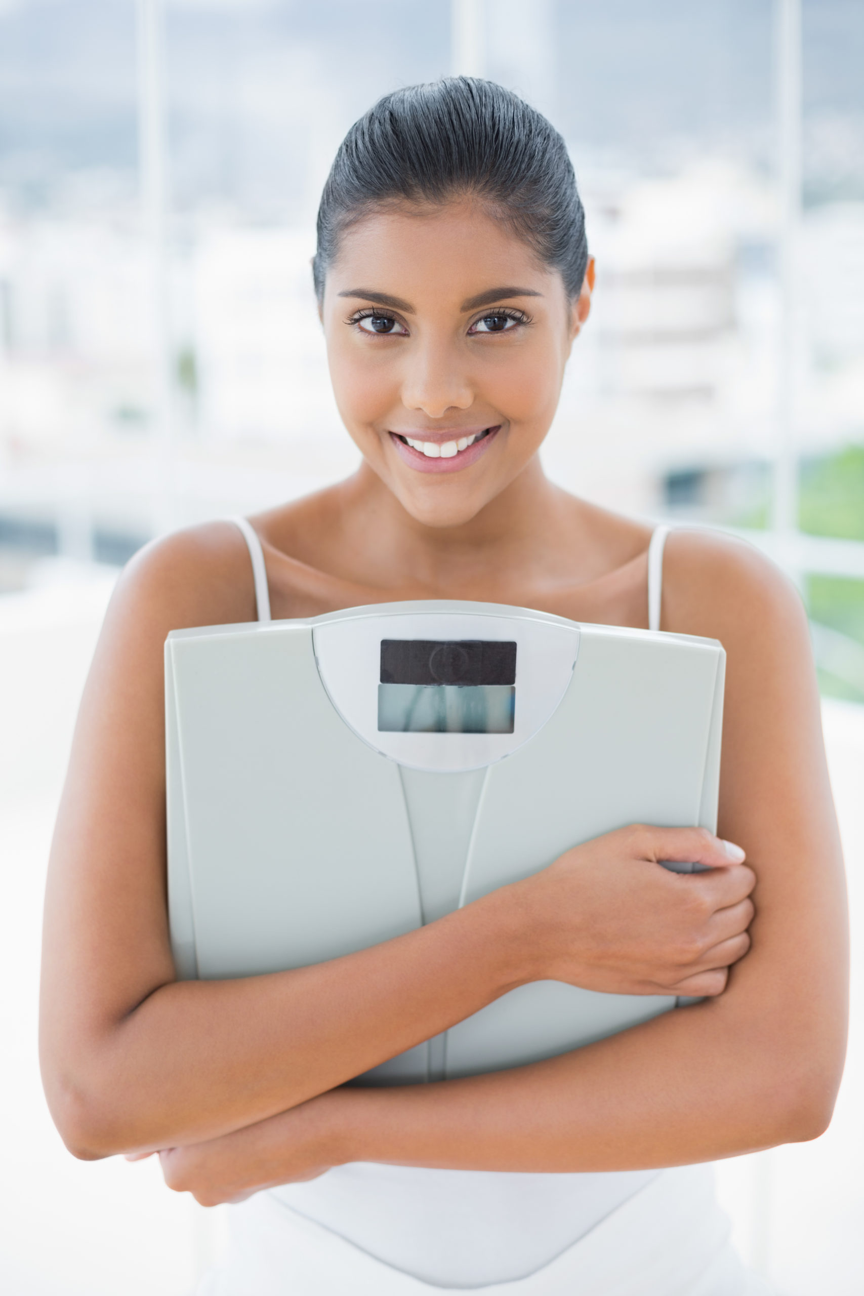 My health - Genetic testing for wellness service - lady happy